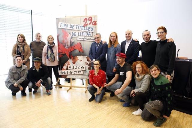 La Fira de Titelles de Lleida programa 26 espectáculos y un centenar de actuacio