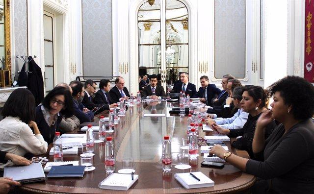 Reunión del Colegio de Abogados de Madrid