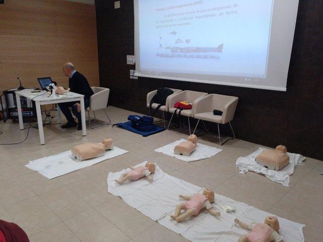 Salud forma en primeros auxilios pediátricos