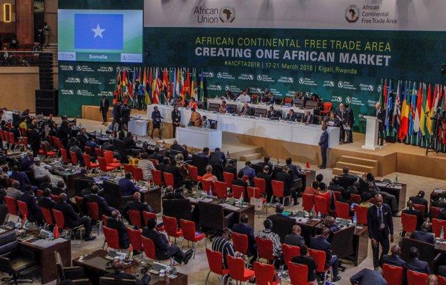 Cumbre en Ruanda para crear una zona de libre comercio en África