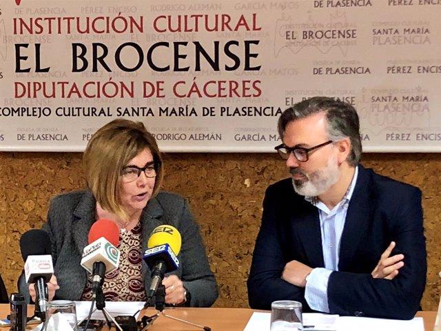 Rosario Cordero y Fernando Pizarro