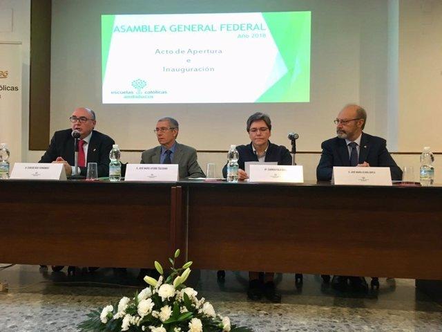 Asamblea anual de Escuelas Católicas de Andalucía