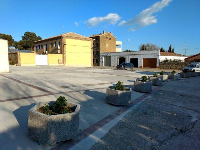 Nueva plaza dedicada a los danzantes en Las Pedrosas