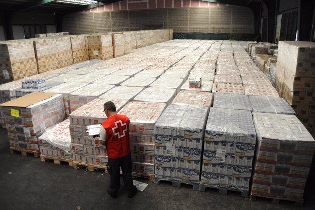 Cruz Roja distribuirá más de 455 toneladas de alimentos en la provincia tinerfeña