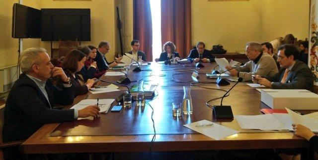 Reunión de la Comisión de la SVAV. 22-3-2018