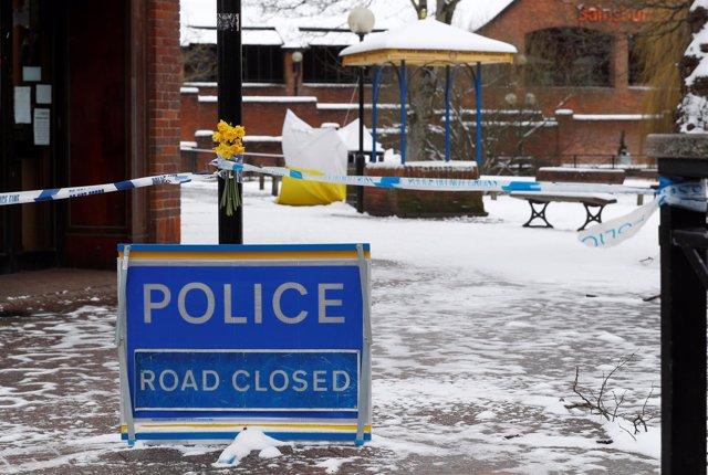 Cordón policial en Salisbury por el ataque a Sergei Skripal y su hija