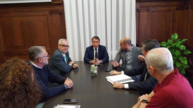 Reunión entre el Ayuntamiento y Fepeco