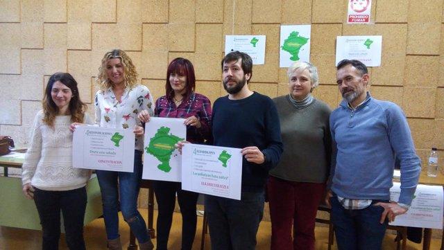 Presentación de la Plataforma de Interinos Docentes de Navarra