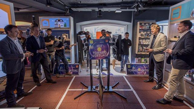 El tenis del futuro llega con el nuevo Mutua Madrid Open Virtual