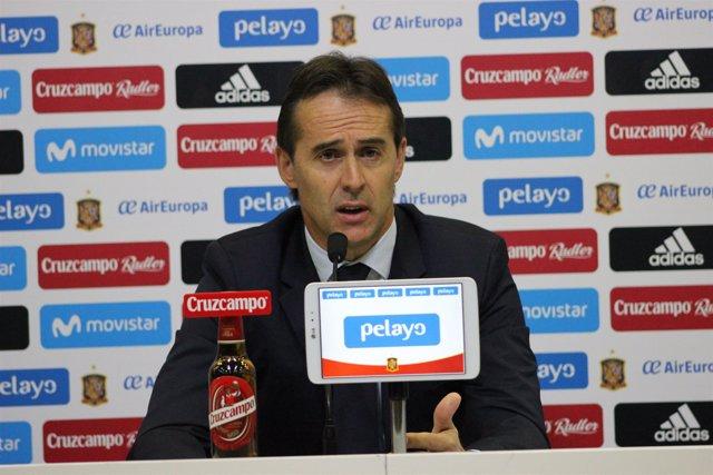 Julen Lopetegui (Selección Española de Fúbol)