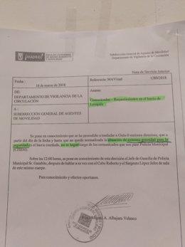 Orden del Ayuntamiento de Madrid para agentes de Seguridad en Lavapiés