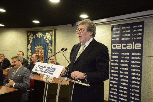 Santiago Aparicio, reelegido presidente de Cecale.
