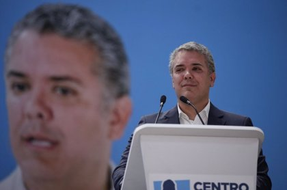 El candidato a la Presidencia de Colombia Iván Duque se posiciona como favorito de cara a las elecciones