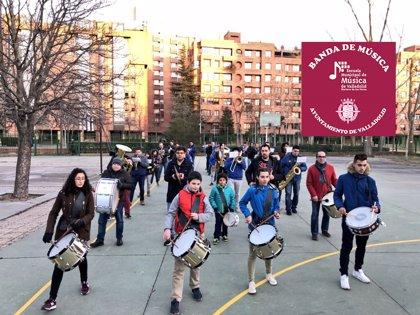 La Banda de la Escuela Municipal de Música de Valladolid participa este viernes en su primera procesión