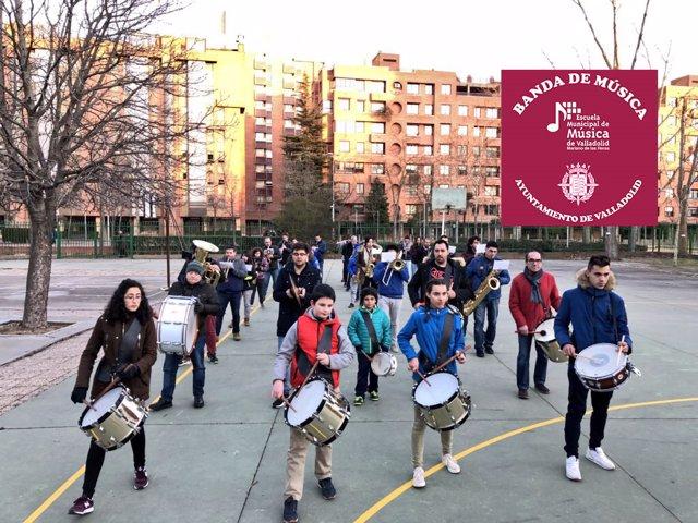 Banda Inicial de la Escuela Municipal de Música. 23-3-2018