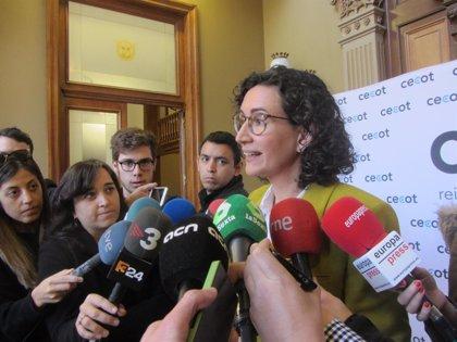 """Marta Rovira (ERC) no acude al Supremo y anuncia que se marcha """"al exilio"""""""