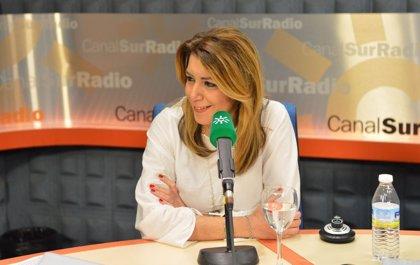 """Susana Díaz afirma que no le sobra """"ni un minuto"""" para pensar en cuestiones de partido porque está volcada en Andalucía"""