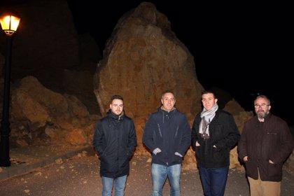 Diputación Albacete pone a disposición de Chinchilla todos sus medios tras el desprendimiento
