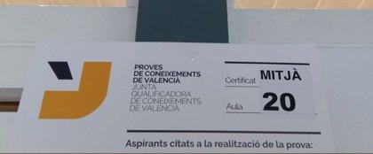 Consulta aquí el calendario de las pruebas de certificación de nivel de valenciano