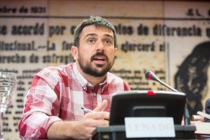 """Espinar (Podemos): """"Creo que Jordi Turull no debería ingresar hoy en prisión"""""""
