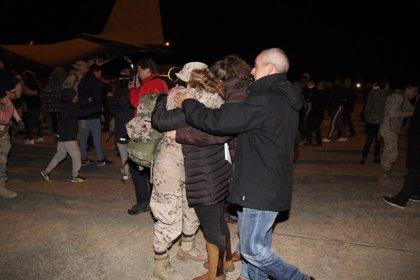 Los militares del REIG de Salamanca regresan tras medio año de trabajo en Irak