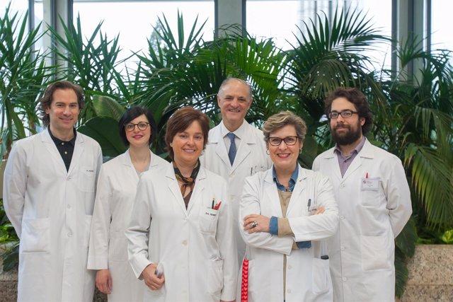 Equipo investigador de la Clínica Universidad de Navarra