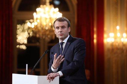 La popularidad de Macron cae a su nivel más bajo desde que tomó posesión