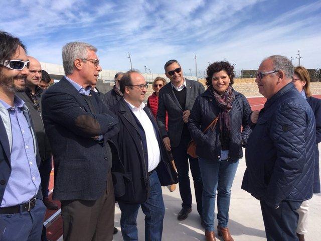 Miquel Iceta y Josep Fèlix Ballesteros (PSC)