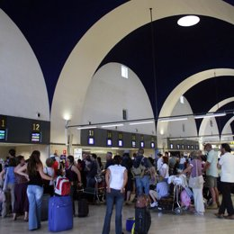Aeropuerto de San Pablo en Sevilla