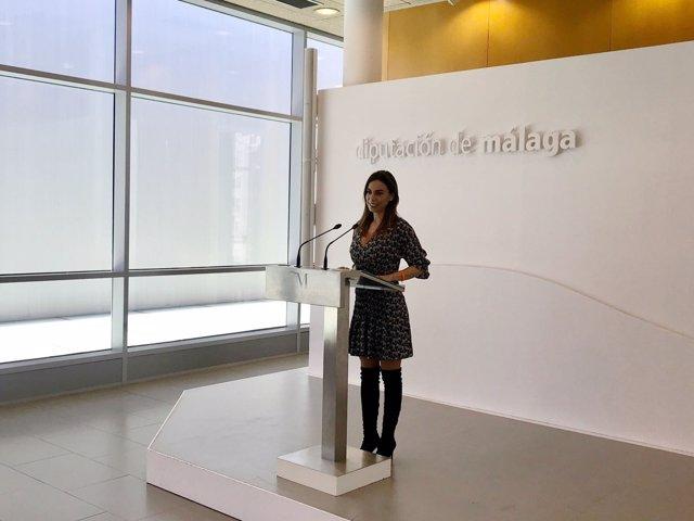 Teresa Pardo Diputación de Málaga viceportavoz política