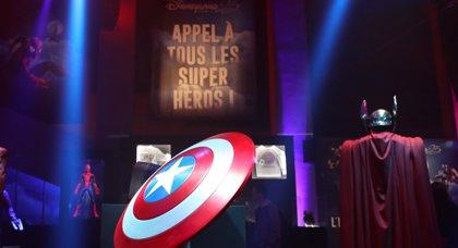 Los superhéroes de Marvel protagonizan la nueva experiencia inmersiva de Disneyland París