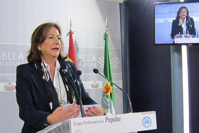 La diputada del PP Consuelo Rodríguez Píriz