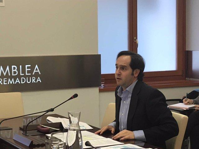 El secretario general de la Presidencia de la Junta, Fernando Blanco Fernández