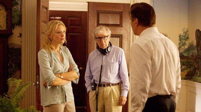 Woody Allen y Cate Blanchett