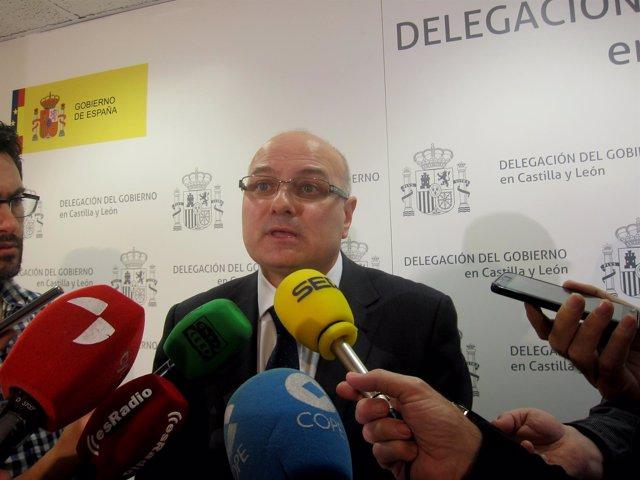 El subdelegado, Luis Antonio Gómez Iglesias.