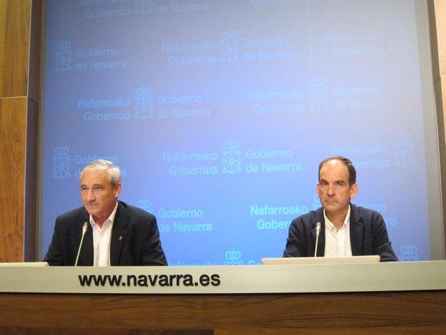 Mikel Aranburu y Luis Esain
