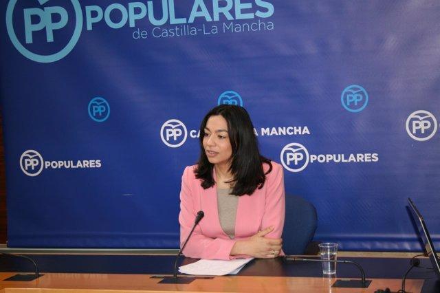 Gpp Clm (Cortes De Voz Y Fotografía) Claudia Alonso En Rueda De Prensa