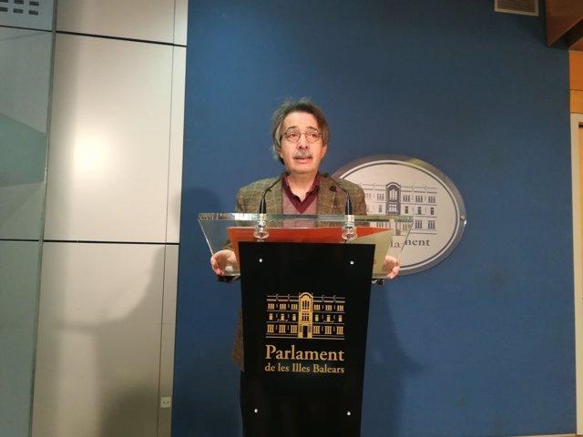 Xavier Pericay, portavoz parlamentario de Ciudadanos Baleares