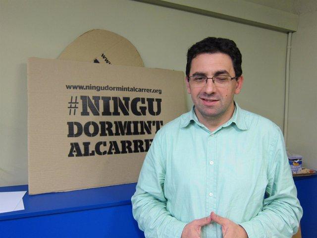 El director de la Fundació Arrels, Ferran Busquets