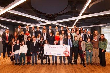 La Fundación Carrefour dona 18.000 euros a la Fundación Irene Villa para la integración de personas con discapacidad