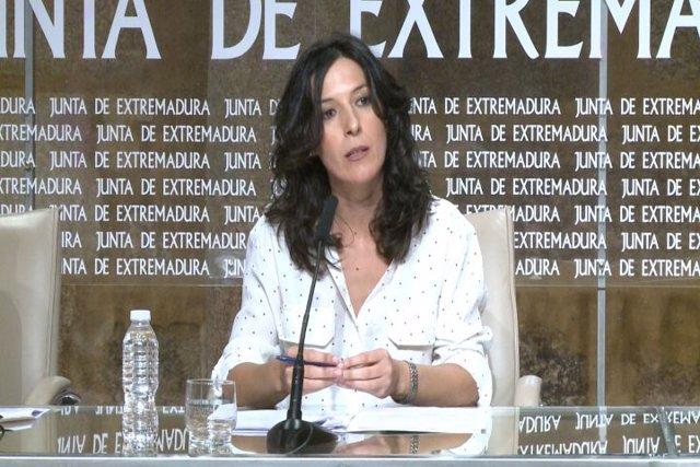 La consejera de Educación, Esther Gutiérrez, en una imagen de archivo