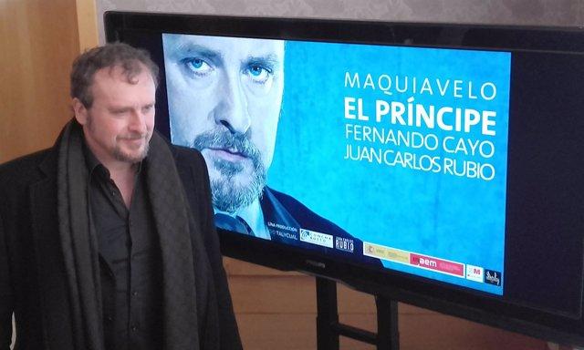 Fernando Cayo presenta 'El Príncipe' en el Teatro Calderón, 23-3-18