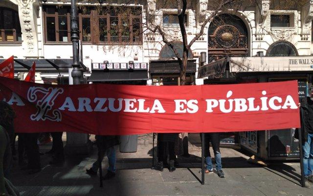 Más de 15 espectáculos de zarzuela, ballet, danza o teatro cancelados en abril por paros de trabajadores de INAEM