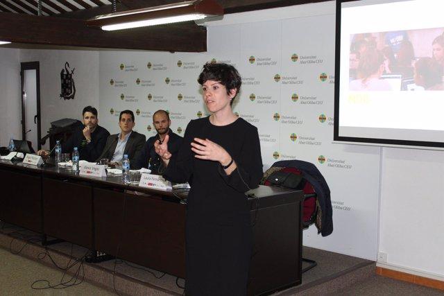La cofundadora de Future Funded Laura Fernández