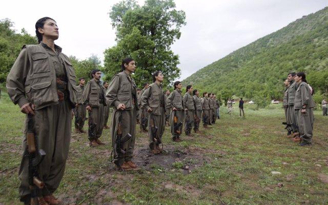El PKK anuncia su retirada de la provincia iraquí de Sinyar