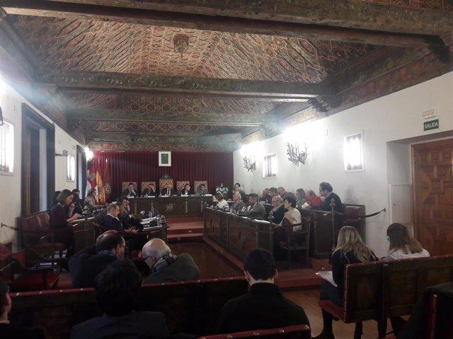 Valladolid (23-03-2018).- Pleno de la Diputación