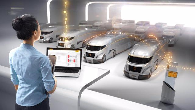 Imagen de recurso de la tecnología 'ContiConnect' de Vodafone y Continental