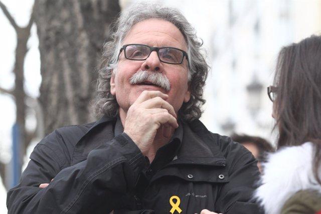 El diputado de ERC Joan Tardá, a las puertas del Supremo