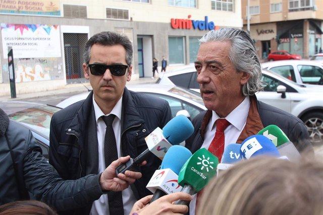 Miguel Ángel y Francisco Torres, los abogados de los padres de Gabriel