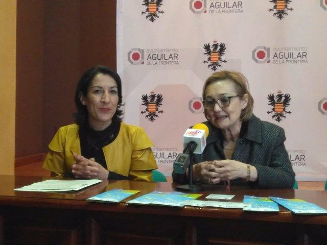 Pozuelo (izda.) y Ayuso, durante la rueda de prensa
